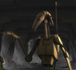 Unidentified B1 battle droid 14 (Malevolence)