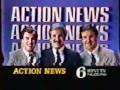 WPVI-TV's Channel 6 Action News At 6 Video ID From The Early 1980's