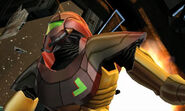 Exterior Docking Hangar escape Samus closeup Power Suit Dolphin HD