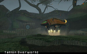Samus Hunter Class Gunship Tallon Overworld Landing Site Dolphin HD