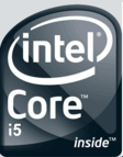 Intel i5 logos