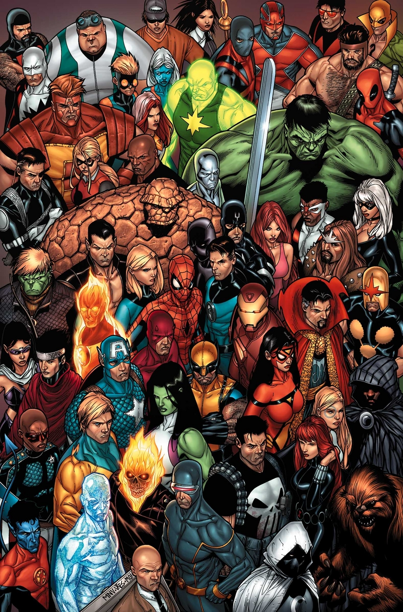 Marvel comics characters the game wiki - Heros avengers ...