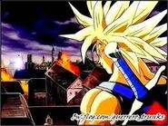 Trunks ssj en la pelicula