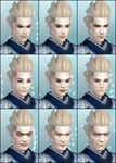 DW6E Male Face Parts