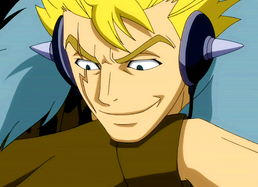 Laxus smile