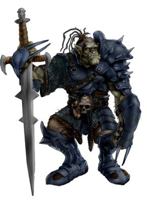 Heavy orc warrior color