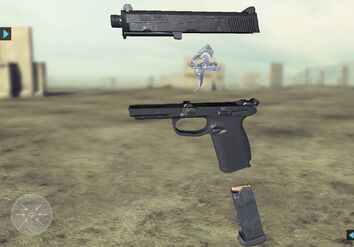 Future Soldier FN FNP-45 Tactical Website 4