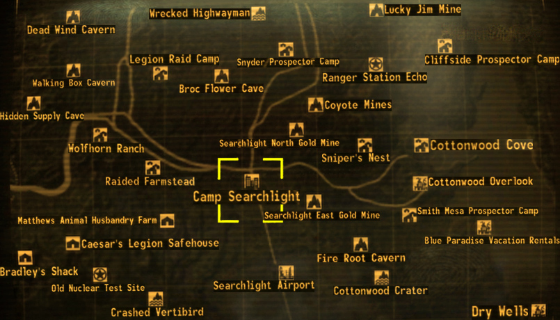 Camp Searchlight The Fallout wiki Fallout New Vegas and more