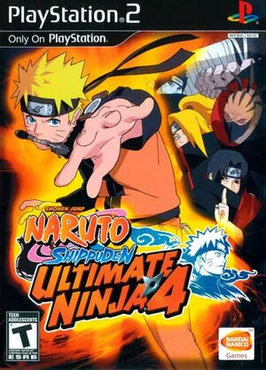Ultimate Ninja 4 EN
