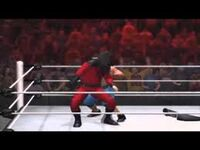 Wwe 12 masked kane with cena