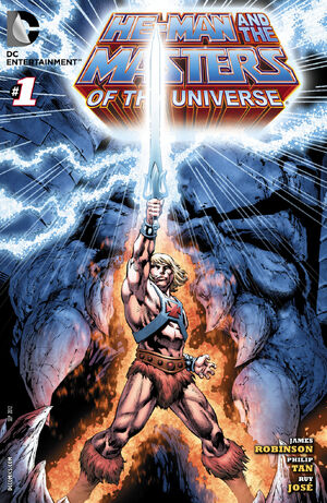 Cover for He-Man and the Masters of the Universe #1
