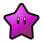 Purple Coin Star SMW3D