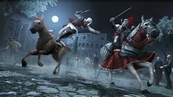 Horse combat 1