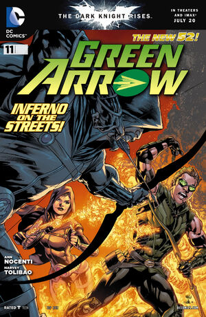 Cover for Green Arrow #11
