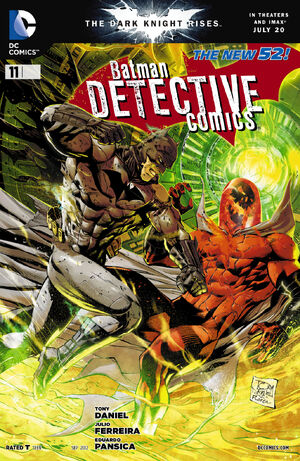 Cover for Detective Comics #11