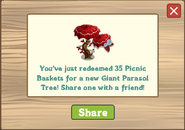 Giant Parasol Tree Redeemed