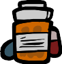 Moms Bottle Of Pills Icon