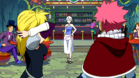 Lucy obeys Lisanna