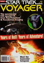 VOY Official Magazine issue 16 cover