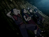 Team Avatar stargazing