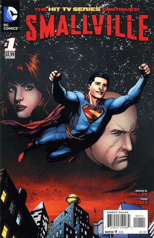 Cover for Smallville Season 11 #1
