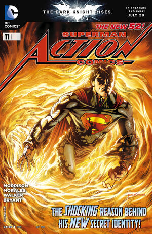 Cover for Action Comics #11