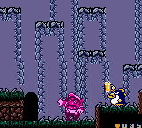 Penguin - Making Wario Drunk - Wario Land II (Japan)