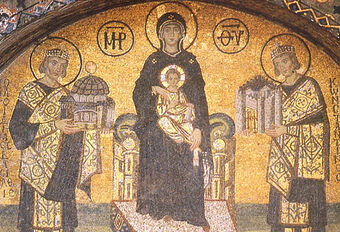 Virgin-Mary-Amid-the-Emperors-Justinian-and-Constantine