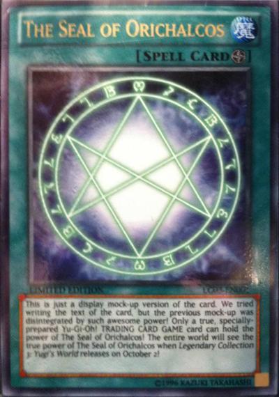 Legendary Collection 3 : Yugi's World TheSealofOrichalcos-LC03-EN-UR-LE-MockUp