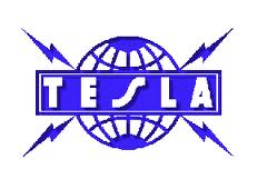 Tesla band logo