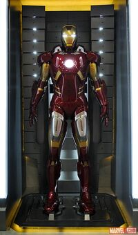 Iron Man Armor MK VII (Earth-199999) 001