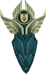 Armadyl kiteshield detail
