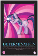 MLPFiM ComicCon2012 Trolley Poster Determination FMA