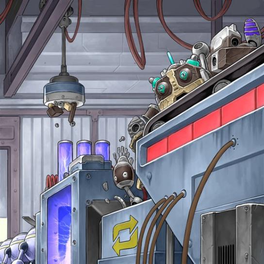 machine assembly line yugioh