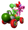 MKTR Yoshi and Bird