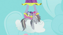 Rainbow Dash sleeping S2E02
