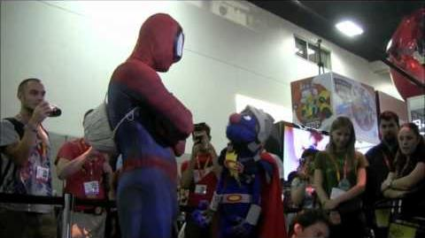 Super Grover at Comic-Con 2012