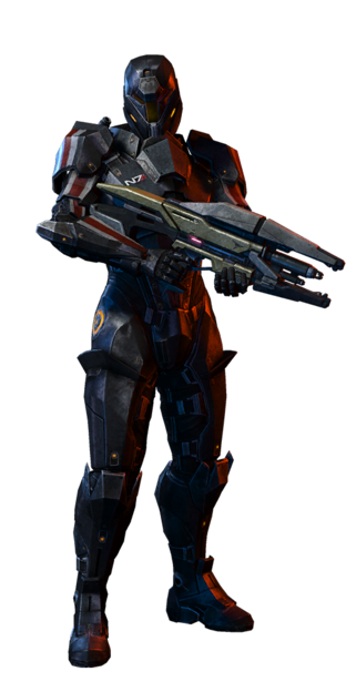 N7 Destroyer Soldier MP