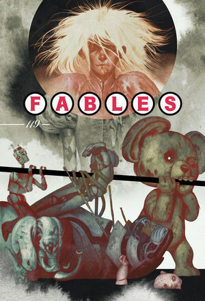 Cover for Fables #119