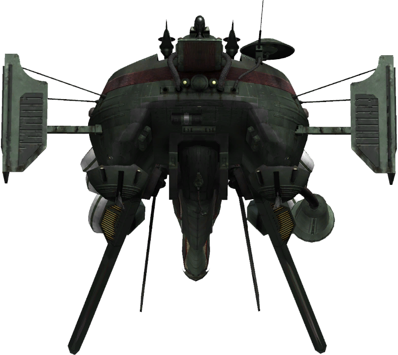 FFXIII enemy Havoc Skytank