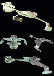 D7-class Klingon battle cruiser second studio model