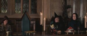 Grabbly-Plank, McGonagall and Snape