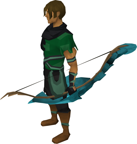 Magic shieldbow equipped