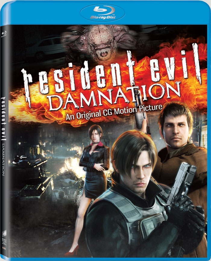 RE Damnation Blue Ray Disc