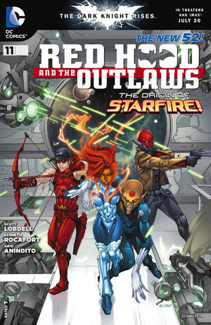 Cover for Red Hood and the Outlaws #11