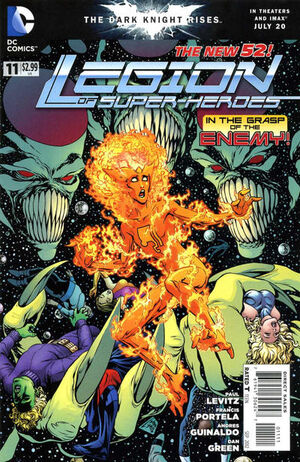 Cover for Legion of Super-Heroes #11