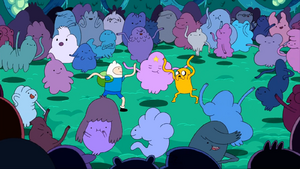 S1e2 finn lsp and jake dance