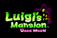 Logo - Luigi's Mansion Dark Moon