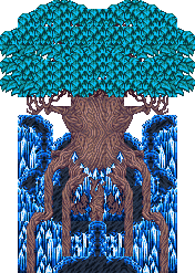 FFV exdeath tree sprite