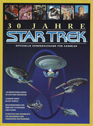 Star Trek 30 Years German cover